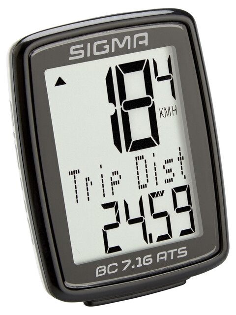 SIGMA SPORT BC 7.16 ATS - Compteur sans fil - sans fil noir